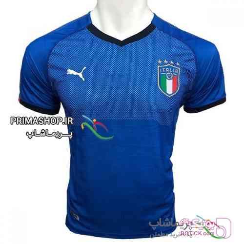 پیراهن اول ایتالیا 2018 تایلندی آبی ست ورزشی مردانه
