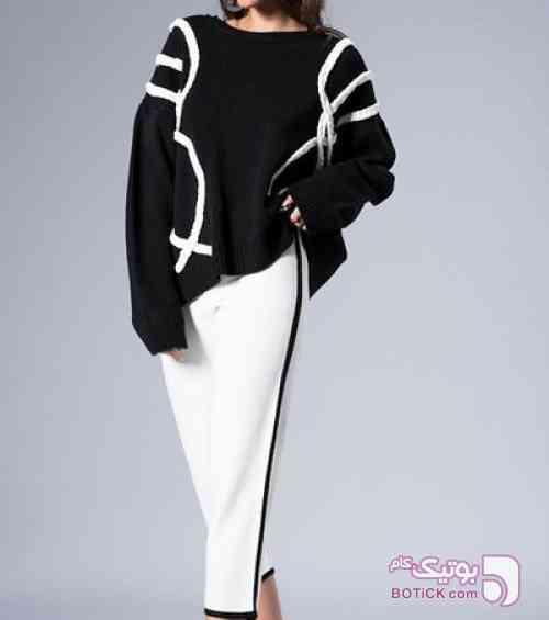 ست بلوز و شلوار برند Cool & sxy مشکی شلوار زنانه