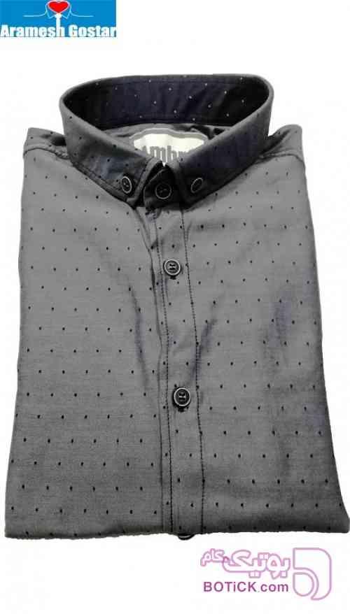 پیراهن اسپرت پسرانه کد ۹۵۲۱ - رنگ ۶ طوسی پيراهن مردانه