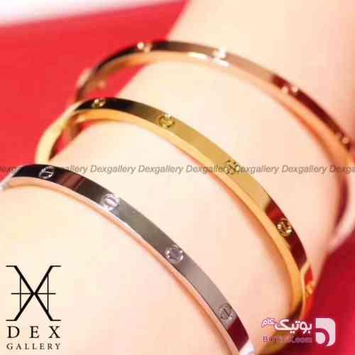 دستبند كارتيه cartier bracelet  زرد دستبند و پابند