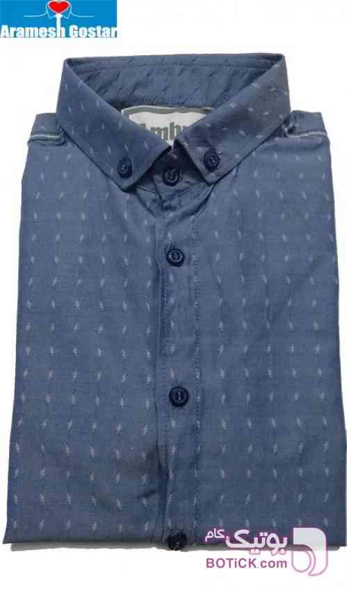 پیراهن اسپرت پسرانه کد ۹۵۲۰ - رنگ ۲ سورمه ای پيراهن مردانه