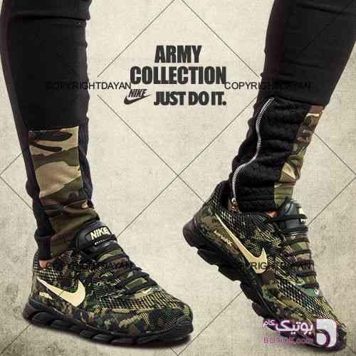 کفش ارتشی Nike مدل Bevis سبز كتانی مردانه