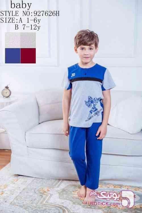 ست بچگانه جوانا joanna آبی لباس کودک پسرانه