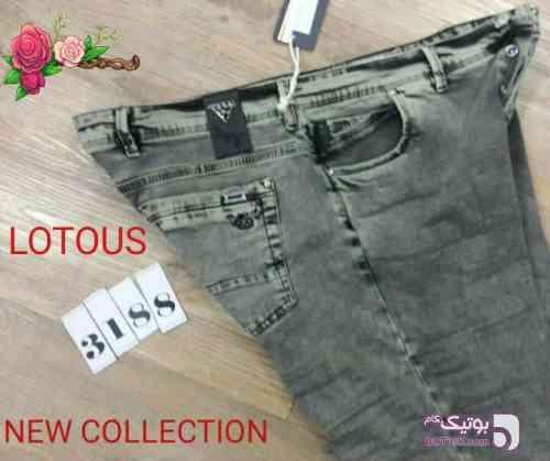 شلوار جین سایز بزرگ مشکی سایز بزرگ مردانه