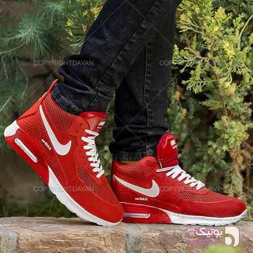 کفش ساق دار Nike مدل Odek(قرمز) سبز بوت مردانه