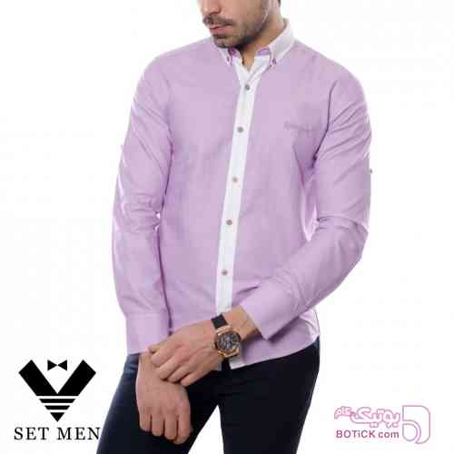 پیراهن بنفش پيراهن مردانه