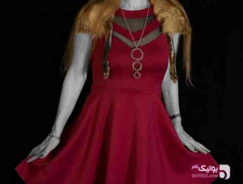 لباس شب مجلسی سورمه ای لباس  مجلسی