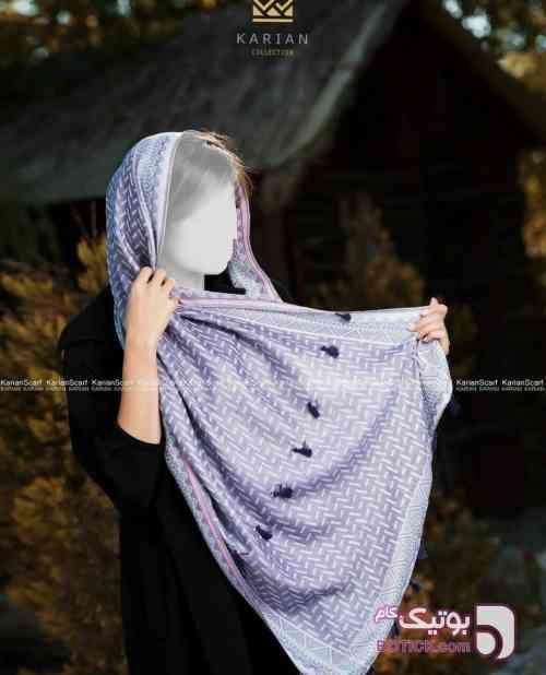 شال گلیمی دخترانه  سبز شال و روسری