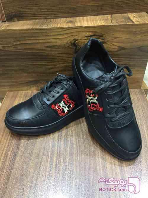 کفش کتانی مشکی كفش مردانه