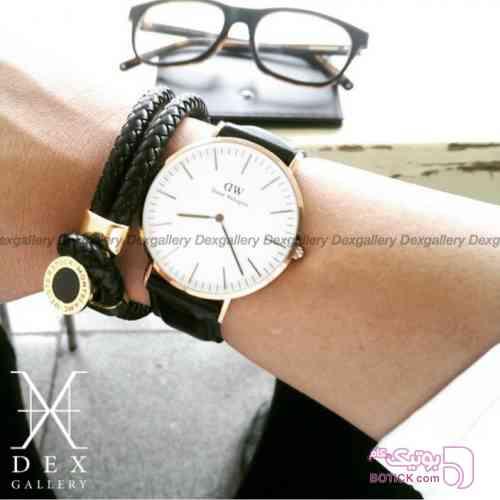 دستبند mont blanc مشکی دستبند و پابند
