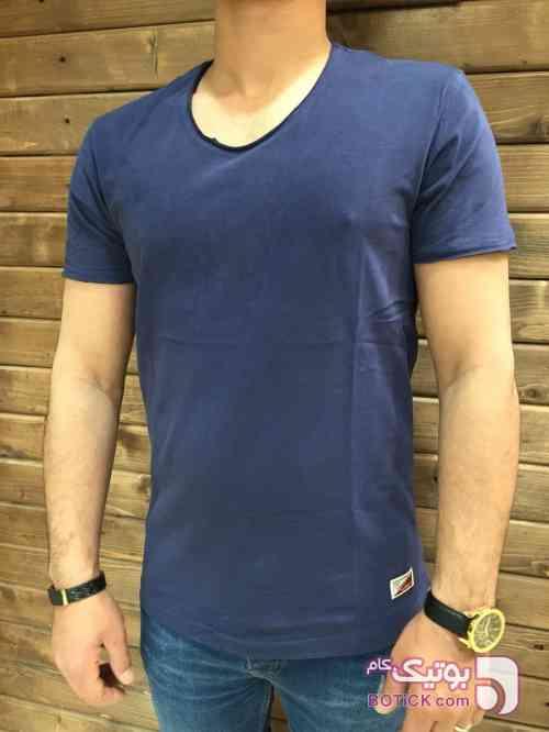 تی شرت مردانه سورمه ای تی شرت مردانه
