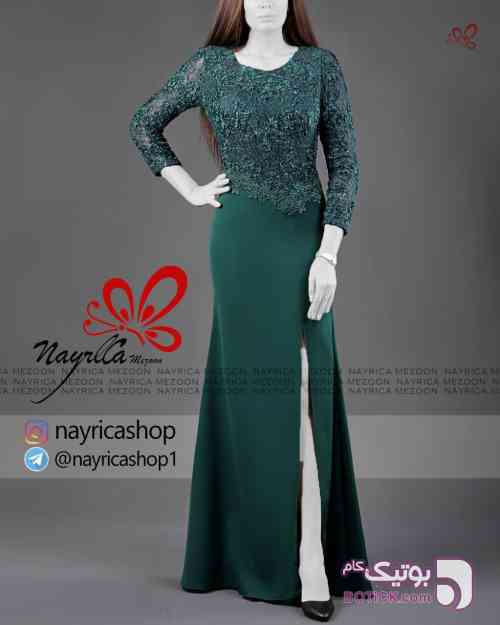 لباس مجلسی گیپور - لباس شب