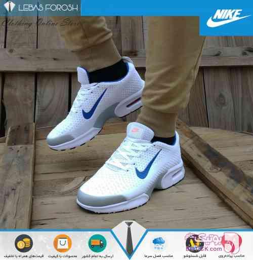 Nike Air Max Jewel سفید كتانی مردانه