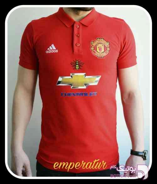 تیشرت منچستر یونایتد قرمز تی شرت مردانه