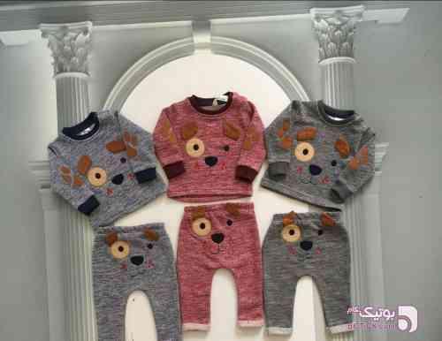 ست اسپرت طوسی لباس کودک پسرانه