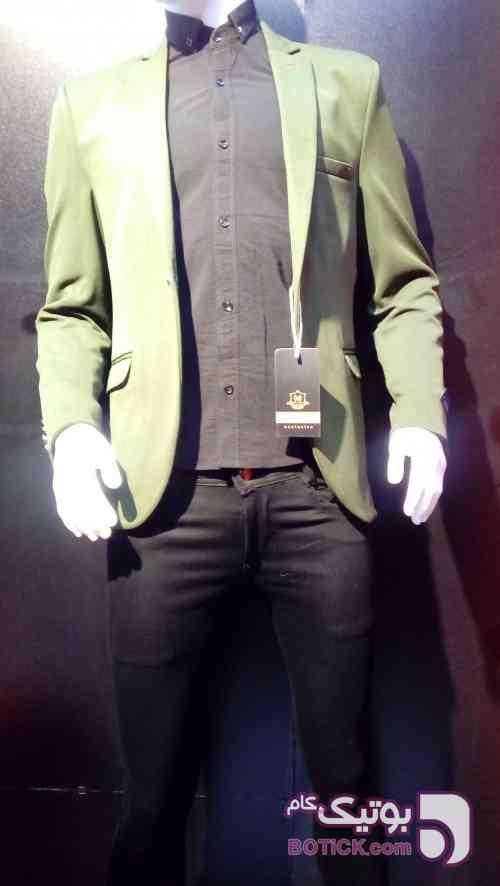 کت اسپرت سبز كت تک