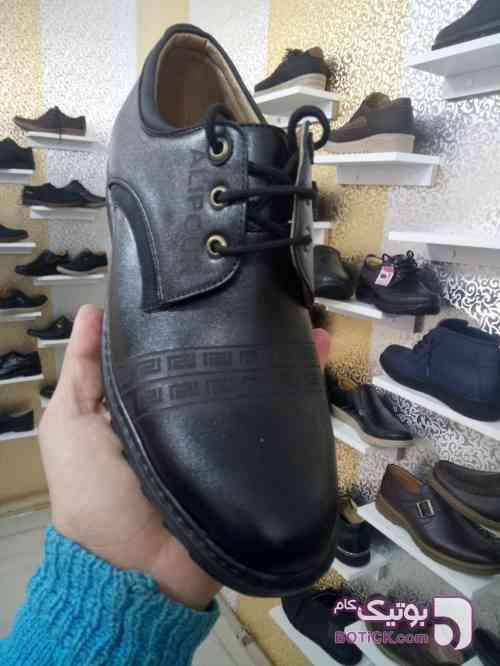 کفش مجلسی مشکی كفش مردانه