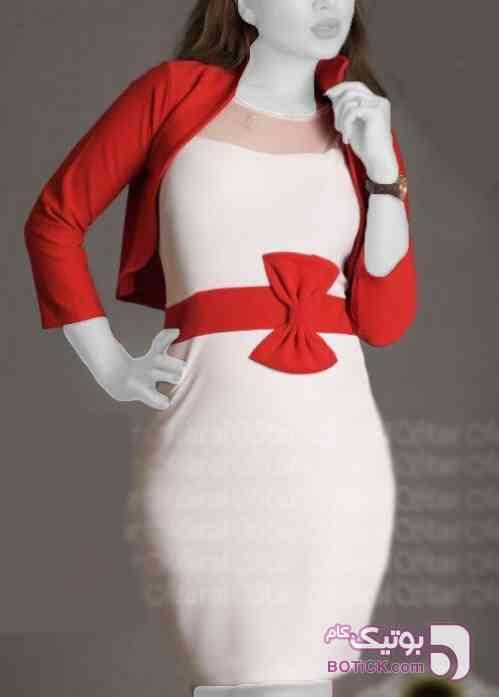 کت سارافون مجلسی قرمز لباس  مجلسی