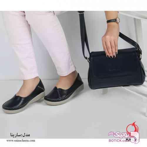 کفش مدل سارینا مشکی كفش زنانه