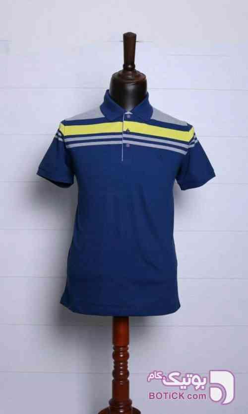 تیشرت اسپرت کلاسیک روگاچی  آبی تی شرت مردانه