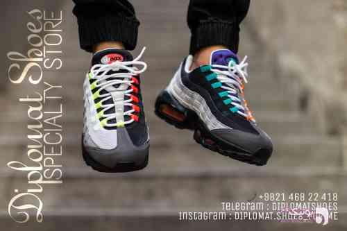 Nike air max 95 سبز كتانی مردانه