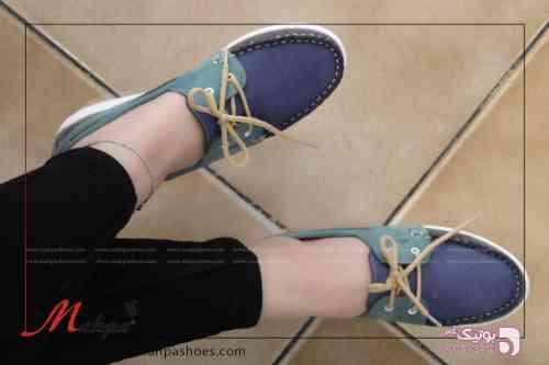 کفش زنانه سورمه ای كفش زنانه