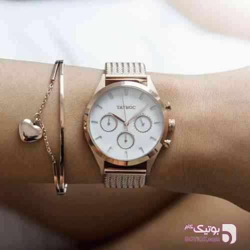 TAYROC (ORIGINAL) نقره ای ساعت