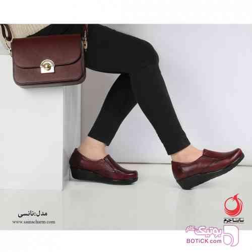 کفش مدل نانسی قهوه ای كفش مردانه