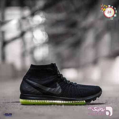 کتانی نایک زوم ساق دار    Nike Zoom   مشکی کفش ورزشی