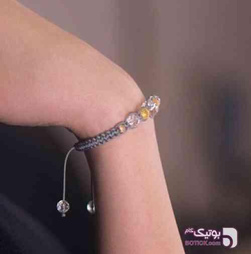 دستبند کریستال بیرنگ نقره ای دستبند و پابند