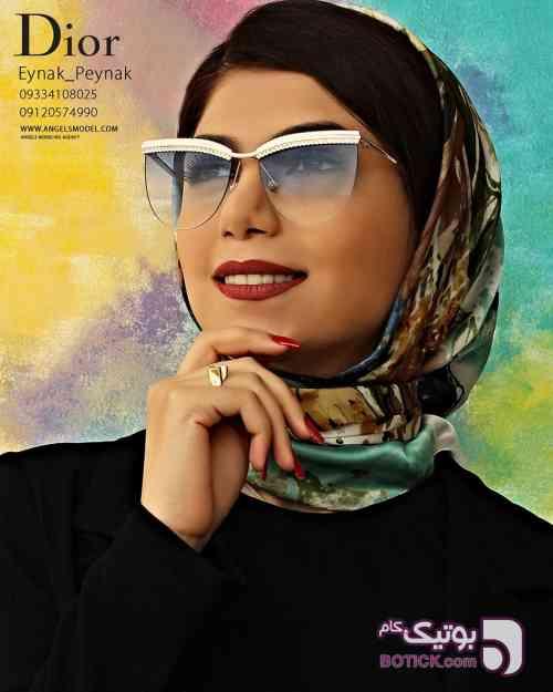 Dior آبی عینک آفتابی