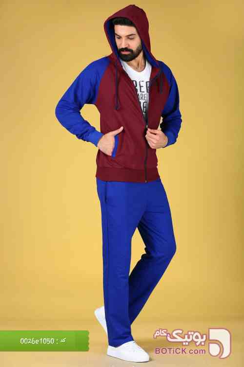 ست راحتی ترک آبی لباس راحتی مردانه
