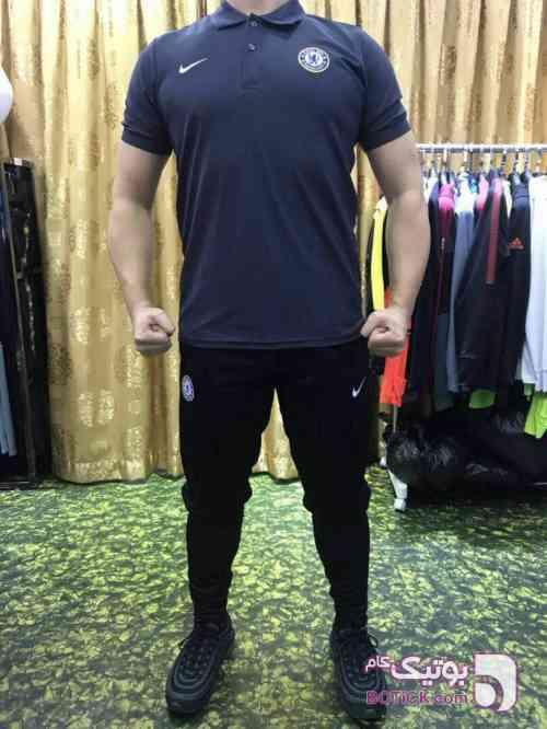 پیراهن شورت فلامنت اعلا مشکی ست ورزشی مردانه