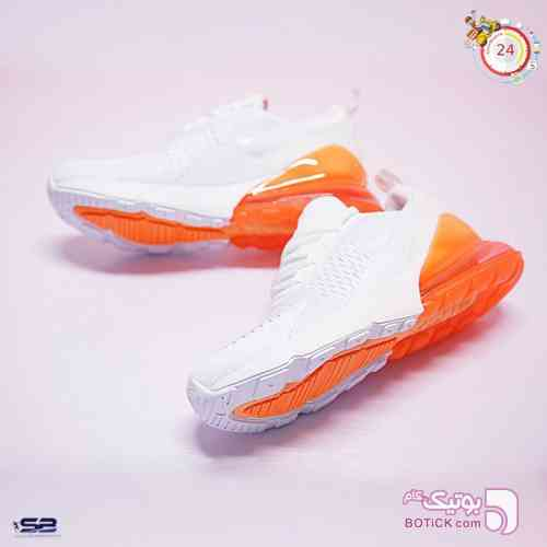 کتانی نایک ایرمکس      Nike Air Max 270  نارنجی کفش ورزشی
