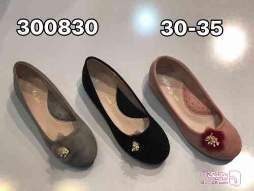 کفش دخترانه مشکی لباس کودک دخترانه