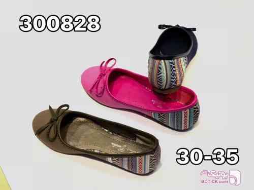 کفش دخترانه صورتی لباس کودک دخترانه