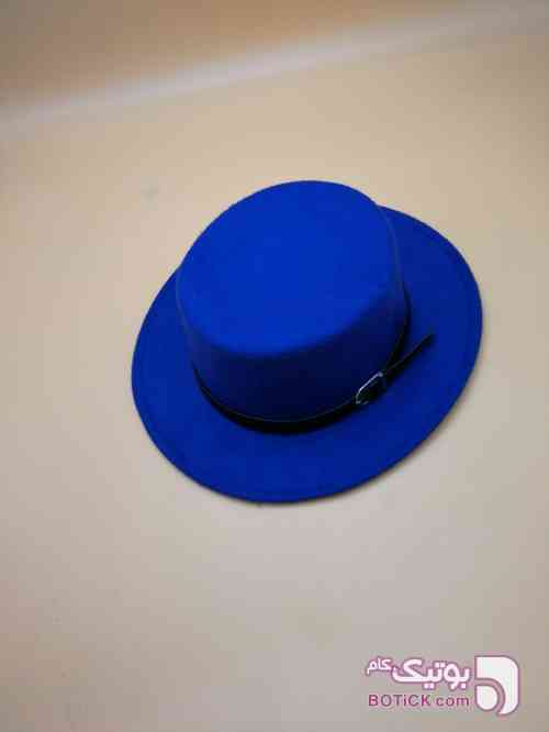 کلاه شاپو آبی کلاه