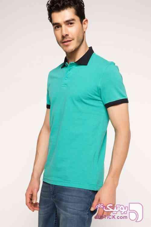 تیشرت ترک آبی تی شرت مردانه
