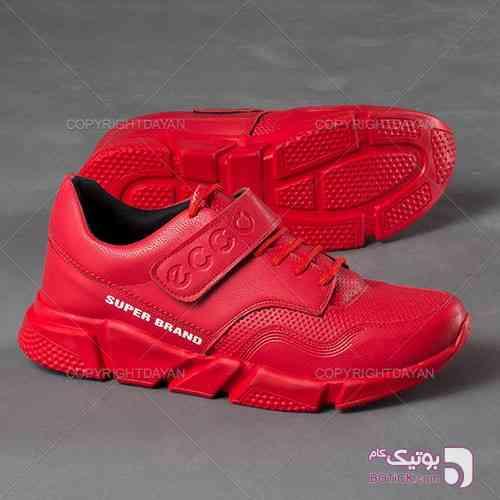 کتانی مردانه Ecco مدل Super Brand(قرمز) قرمز كتانی مردانه