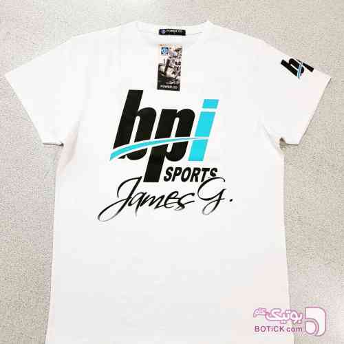 تیشرت باشگاهی Bpi سفید تی شرت مردانه