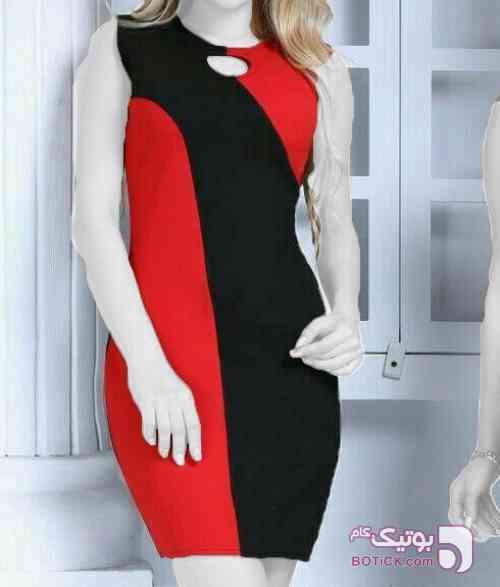 سارافون مجلسی هلن قرمز لباس  مجلسی