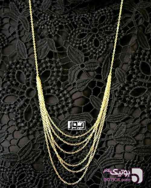 گردنبند و زنجیر  طلایی گردنبند