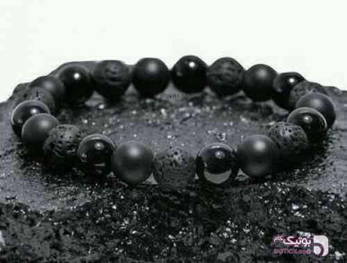 دستبند پسرانه مشکی مشکی دستبند و پابند