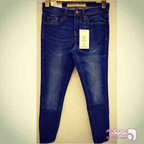 شلوار جین برند آبی شلوار زنانه