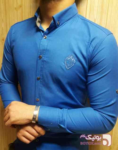 پیراهن مردانه آبی پيراهن مردانه