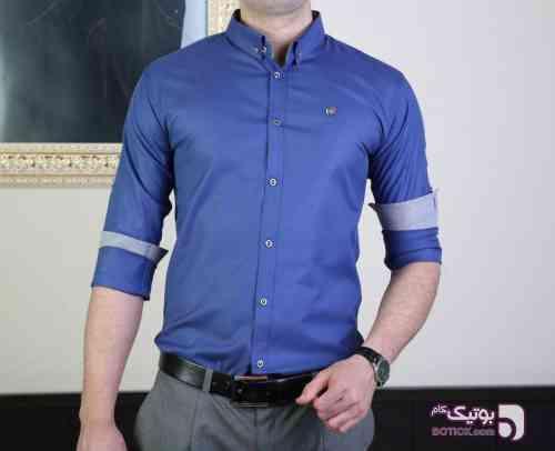 پیراهن مردانه کد 72 آبی پيراهن مردانه