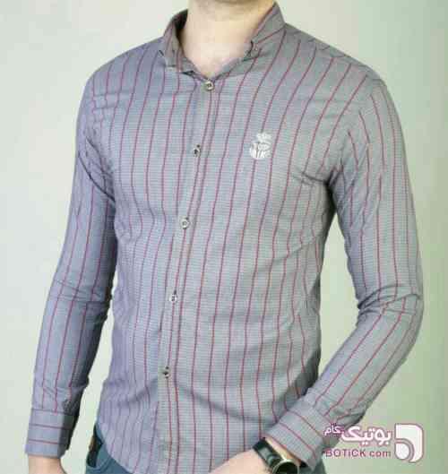 پیراهن مردانه کد 40 سورمه ای پيراهن مردانه
