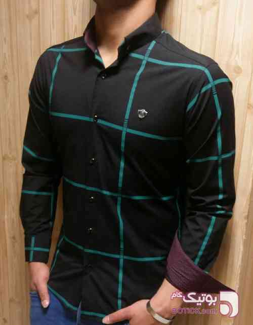 پیراهن مردانه کد 42 مشکی پيراهن مردانه