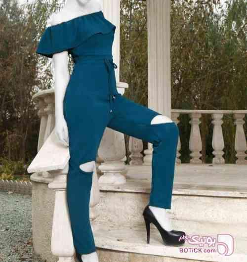 سرهمی سورمه ای لباس راحتی زنانه