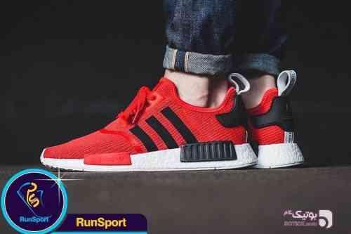 کتانی برند Adidas قرمز كتانی مردانه